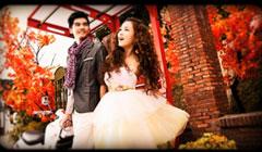 幸福天使婚礼电子相册婚纱照相册视频结婚照片短片婚礼开场视频
