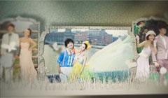 唯美婚礼电子相册清新结婚开场照片视频相册短片婚纱照相册视频