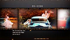 浪漫婚礼电子相册唯美婚纱照相册视频短片结婚微电影