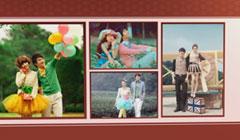 唯美电子相册制作婚礼开场视频短片婚纱照相册片头结婚微电影